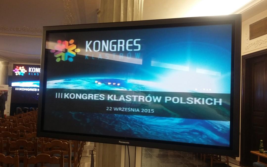 III Kongres Klastrów w Warszawie