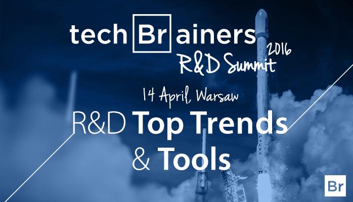 R&D Summit 2016