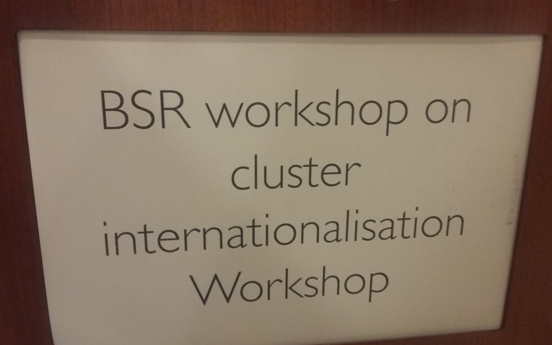 Cluster Internationalization in Riga