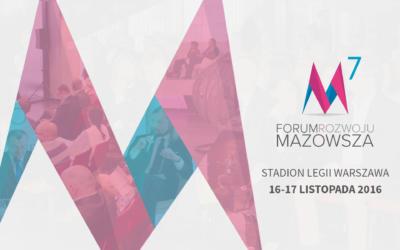 AgroBioCluster oficjalnym partnerem 7 Forum Rozwoju Mazowsza