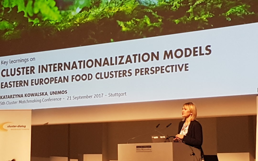 Modele internacjonalizacji klastrów podczas 5th Cluster Matchmaking Conference