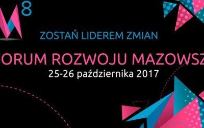 AgroBioCluster oficjalnym partnerem 8 Forum Rozwoju Mazowsza